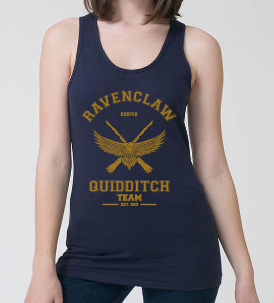 Ravenclaw YELLOW Ink KEEPER Quidditch Team Women Tank top PA old