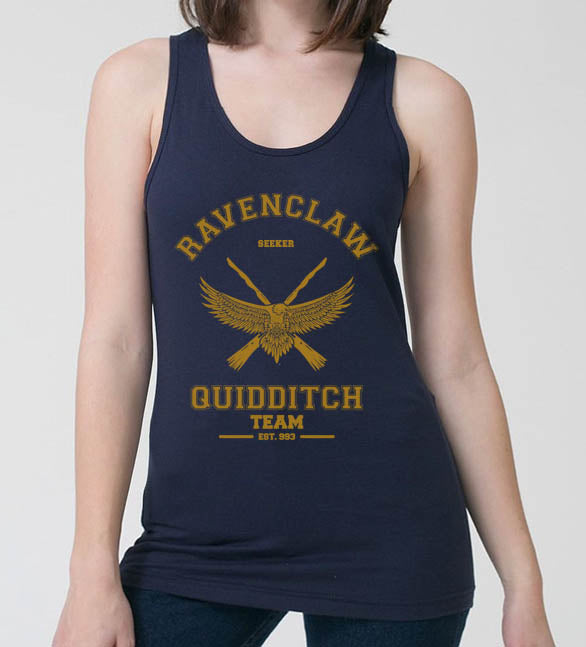 Ravenclaw YELLOW Ink SEEKER Quidditch Team Women Tank top PA old