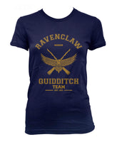 Ravenclaw YELLOW Ink SEEKER Quidditch team Women T-shirt PA old