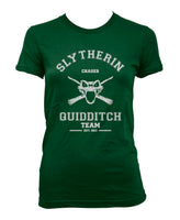 Slytherin CHASER Quidditch team Women T-shirt PA old