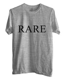 Rare Font on Front T-shirt Men - Meh. Geek