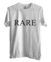 Rare Font on Front T-shirt Men