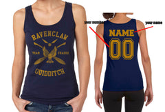 Customize - New Ravenclaw CHASER Quidditch Team Yellow ink Women Tank top