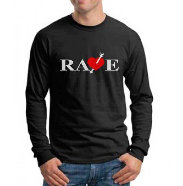 Rave Catherine Vincent Men Long Sleeve T-shirt Tee