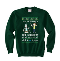 1# Get Schwifty Rick and Morty Ugly Sweater Unisex Crewneck Sweatshirt - Meh. Geek - 4