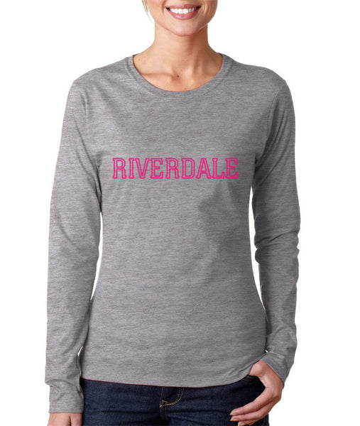 Riverdale Pink Long sleeve T-shirt for Women