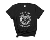 Ravenclaw Dueling Club Bw Ink Women T-shirt Tee PA