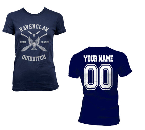 24b0dbe41 Customize - New Ravenclaw CHASER Quidditch team White ink Women T-shirt Tee