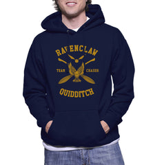 Customize - New Ravenclaw CHASER Quidditch Team Unisex Pullover Hoodie Navy