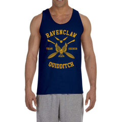 Customize - New Ravenclaw Yellow Ink SEEKER Quidditch Team Men Tank Top