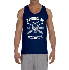 Customize - New Ravenclaw White Ink SEEKER Quidditch Team Men Tank Top