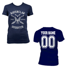 Customize - New Ravenclaw SEEKER Quidditch team White ink Women T-shirt Tee