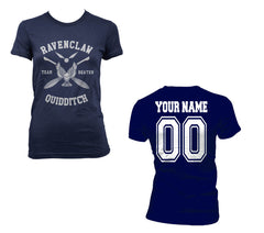 Customize - New Ravenclaw BEATER Quidditch team White ink Women T-shirt Tee