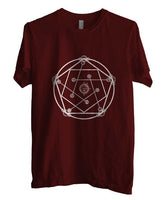 Real Transmutation Fullmetal Alchemist T-shirt Men