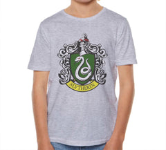 Slytherin #1 Crest Full Color Kid / Youth T-shirt tee PA Crest