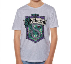 Slytherin #2 Crest Full Color Kid / Youth T-shirt tee PA Crest