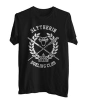 Slytherin Dueling Club Bw Ink Men T-shirt Tee PA