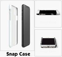 Alpha Beta Omega White Samsung Galaxy Snap or Tough Case
