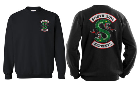 South side Serpents Front and back Riverdale Unisex Crewneck Sweatshirt