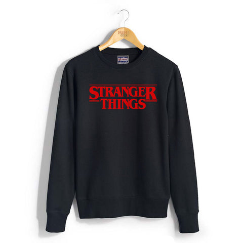 Stranger Things Full Red ink Unisex Crewneck Sweatshirt
