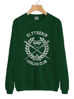 Slytherin Dueling Club Bw Ink Unisex Crewneck Sweatshirt PA