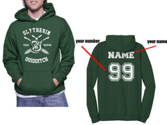 Customize - New Slytherin BEATER Quidditch Team Unisex Pullover Hoodie