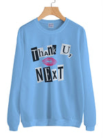 Thank U, Next LIPS Kiss Pop art Ariana Grande Unisex Crewneck Sweatshirt Adult