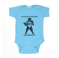 Training To Become Legendary Broly Infant Baby Rib Lap Shoulder Creeper Onesie Bodysuit
