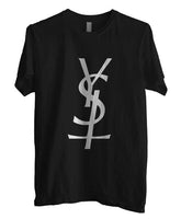 YSL Cross T-shirt Men