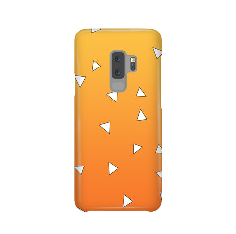 Zenitsu Haori Pattern Samsung Galaxy Snap or Tough Case