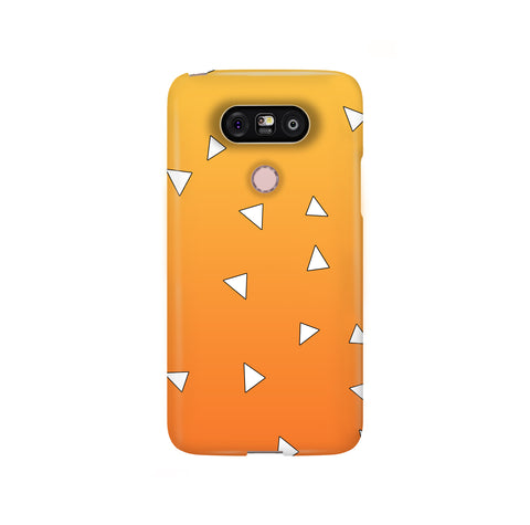 Zenitsu Haori Pattern LG and Google Pixel Snap or Tough Phone Case