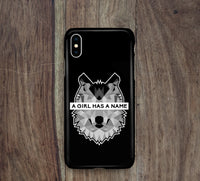 A Girl Has A Name Wolf iPhone Snap or Tough Case