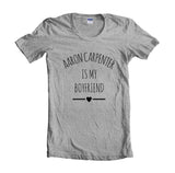 Aaron Carpenter Is My Boyfriend LOVE Unisex T-shirt Women - Meh. Geek - 3