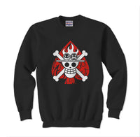 Ace Mugiwara Pirates Unisex Crewneck Sweatshirt - Meh. Geek