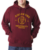 Airbending University Yellow ink print Avatar Air Bender Unisex Pullover Hoodie - Meh. Geek