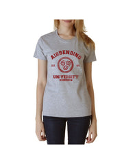 Airbending University Maroon ink print Avatar Air Bender Unisex Women T-shirt - Meh. Geek