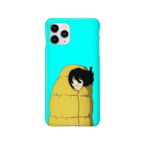 Aizawa Always Tired BNHA iPhone Snap or Tough Case