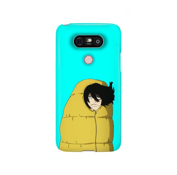 Aizawa Always Tired BNHA LG and Google Pixel Snap or Tough Phone Case