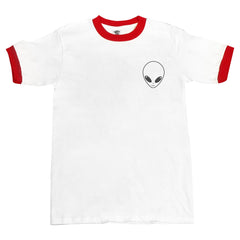 Alien Pocket Ringer Unisex T-shirt / tee
