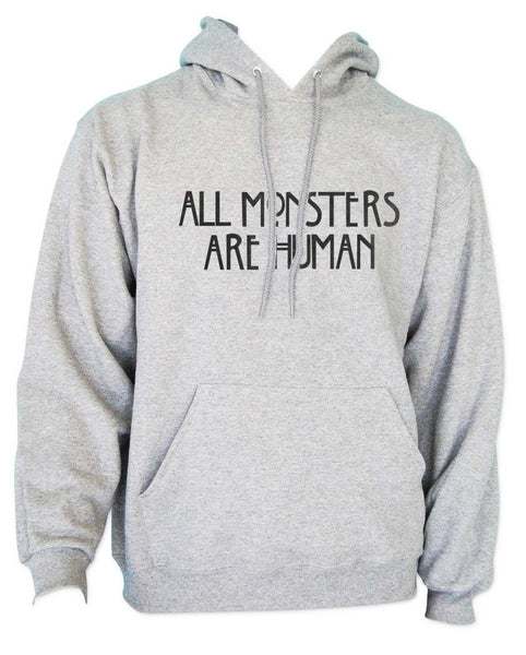 All Monsters Are Human Unisex Pullover Hoodie - Meh. Geek - 4