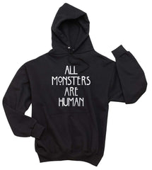 All Monsters Are Human NEW Unisex Pullover Hoodie - Meh. Geek - 2