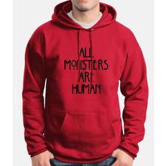All Monsters Are Human NEW Unisex Pullover Hoodie - Meh. Geek - 4