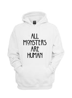 All Monsters Are Human NEW Unisex Pullover Hoodie - Meh. Geek - 5