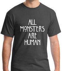 All Monster Are Human NEW Men T-shirt - Meh. Geek - 3