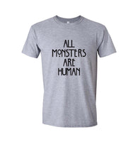 All Monster Are Human NEW Men T-shirt - Meh. Geek - 4