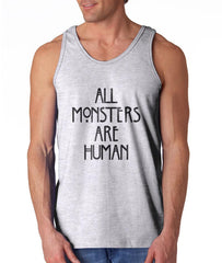 All Monsters Are Human NEW Men Tank Top - Meh. Geek - 2