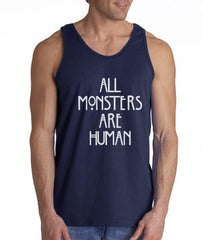 All Monsters Are Human NEW Men Tank Top - Meh. Geek - 3