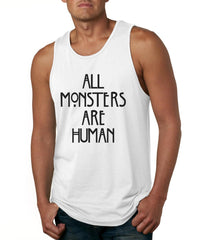 All Monsters Are Human NEW Men Tank Top - Meh. Geek - 4