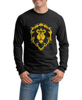 Alliance Wow Men Long Sleeve T-shirt tee