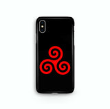 Alpha Beta Omega Red iPhone Snap or Tough Case